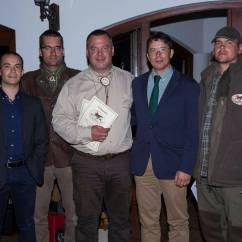 Con Istvan Toth (Samuhazi Vadasz) y Paco Guzman