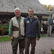 Con Istvan Nagy propietario de Malomközi Kennel